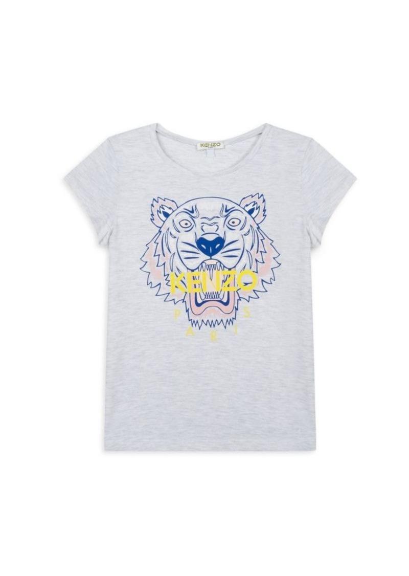 Little Girl's & Girl's Tiger T-Shirt