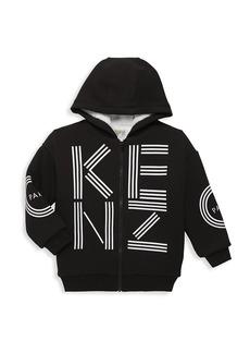 Kenzo Little Kid's & Kid's Fleece Lined Logo Hoodie