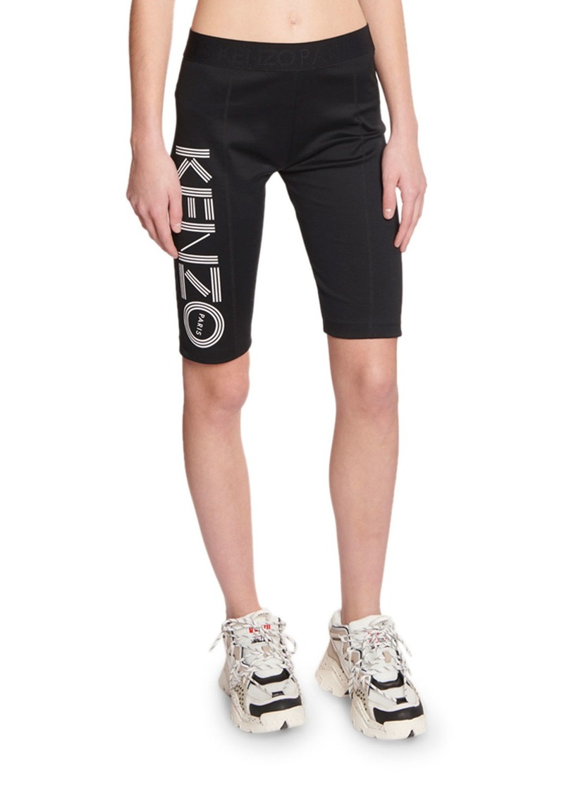 Kenzo Logo Biker Shorts