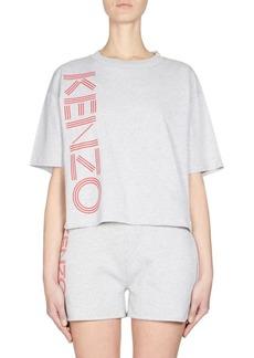 Kenzo Logo Boxy Tee