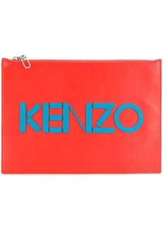 Kenzo logo clutch bag