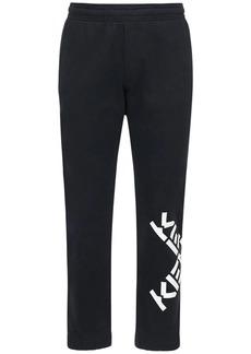 Kenzo Logo Cotton Blend Sweatpants