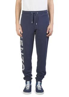 Kenzo Logo Cotton Jogger Pants