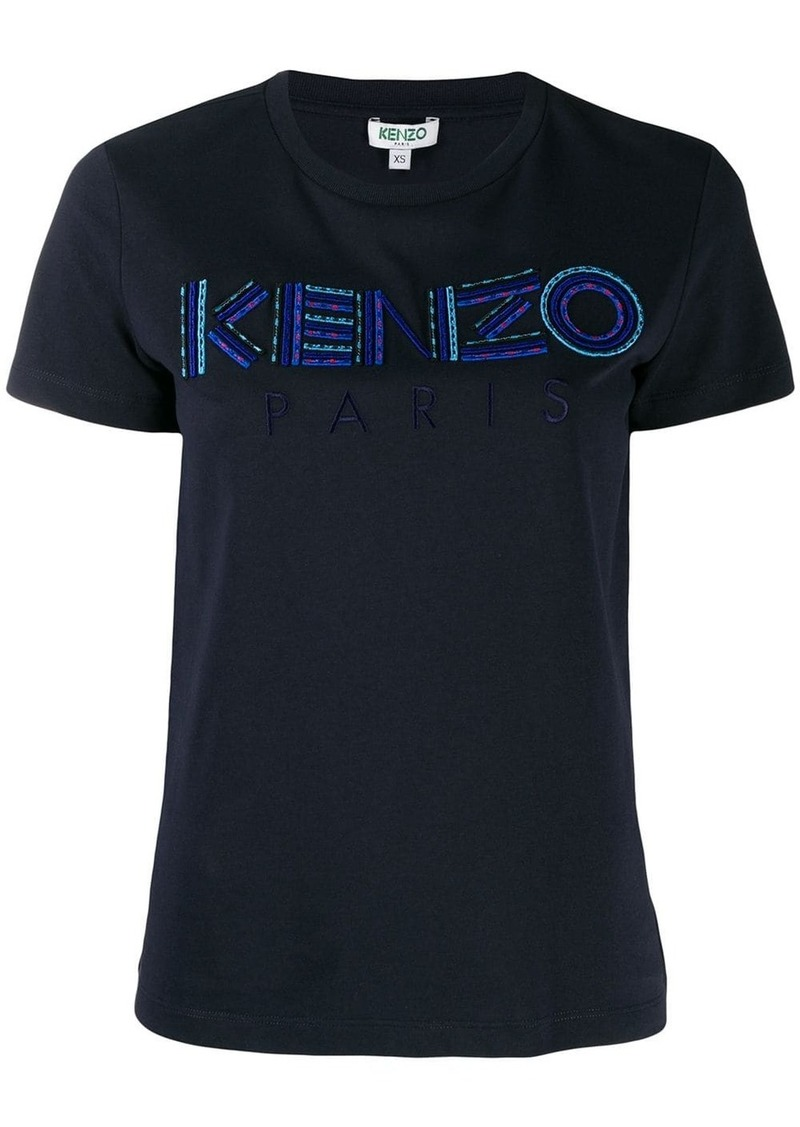 Kenzo logo embroidered T-shirt