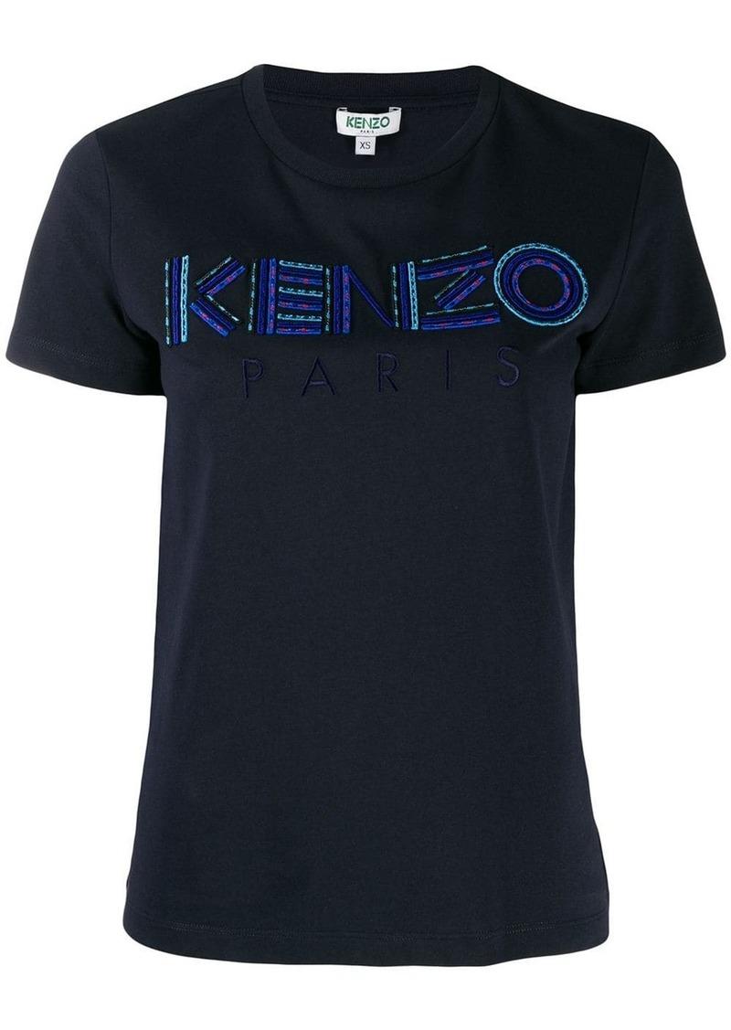 Kenzo logo embroidered T-shirt