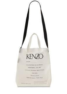 Kenzo Logo Invite Print Pvc Tote