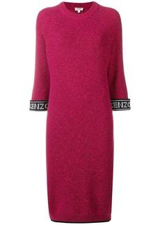 Kenzo logo knit dress