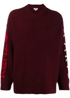 Kenzo logo knitted jumper