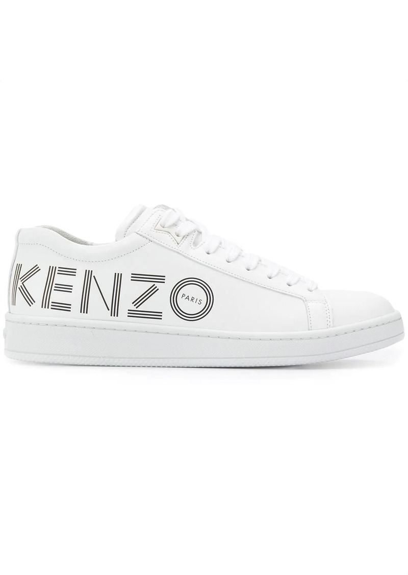 Kenzo logo low-top sneakers