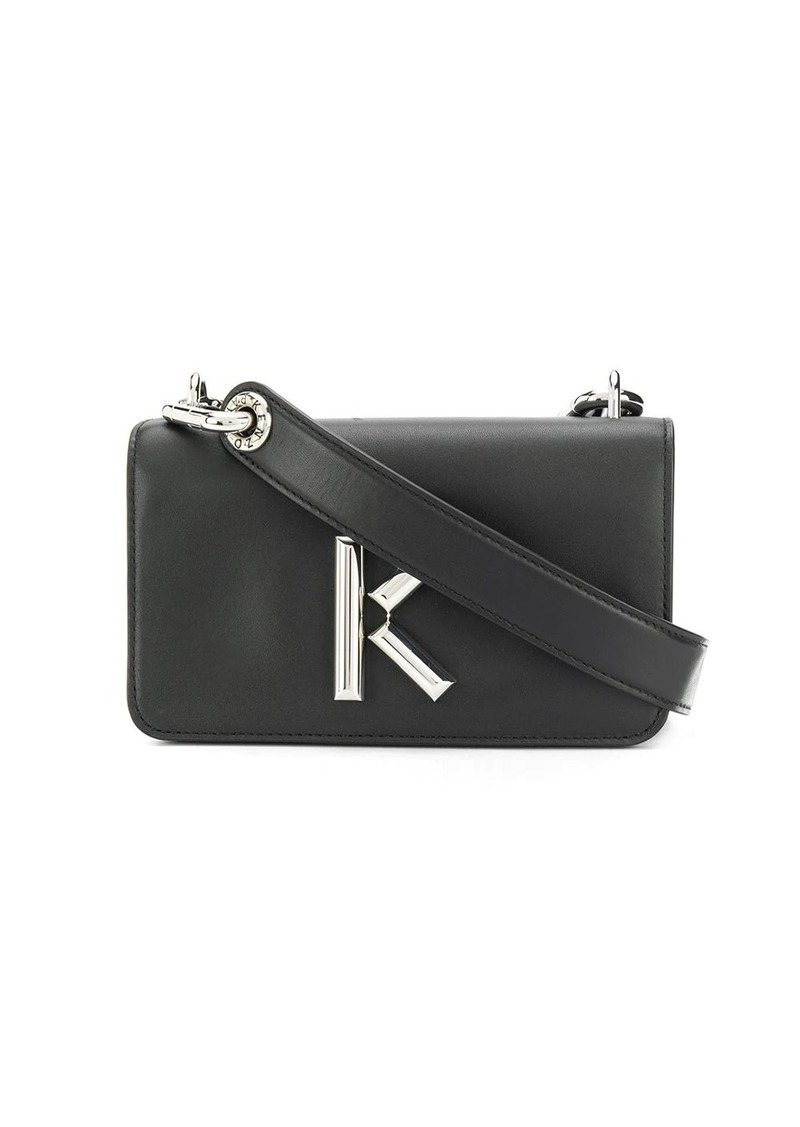 Kenzo logo-plaque cross-body bag
