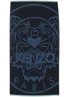 Kenzo logo-print beach towel