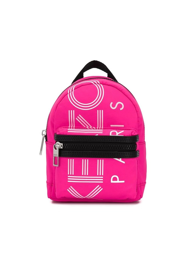 Kenzo logo print mini backpack