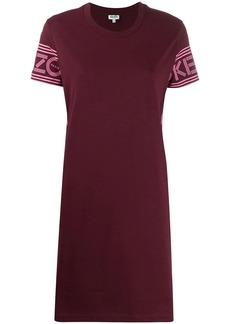 Kenzo logo print shift dress