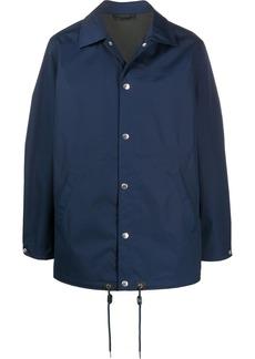 Kenzo logo print shirt jacket