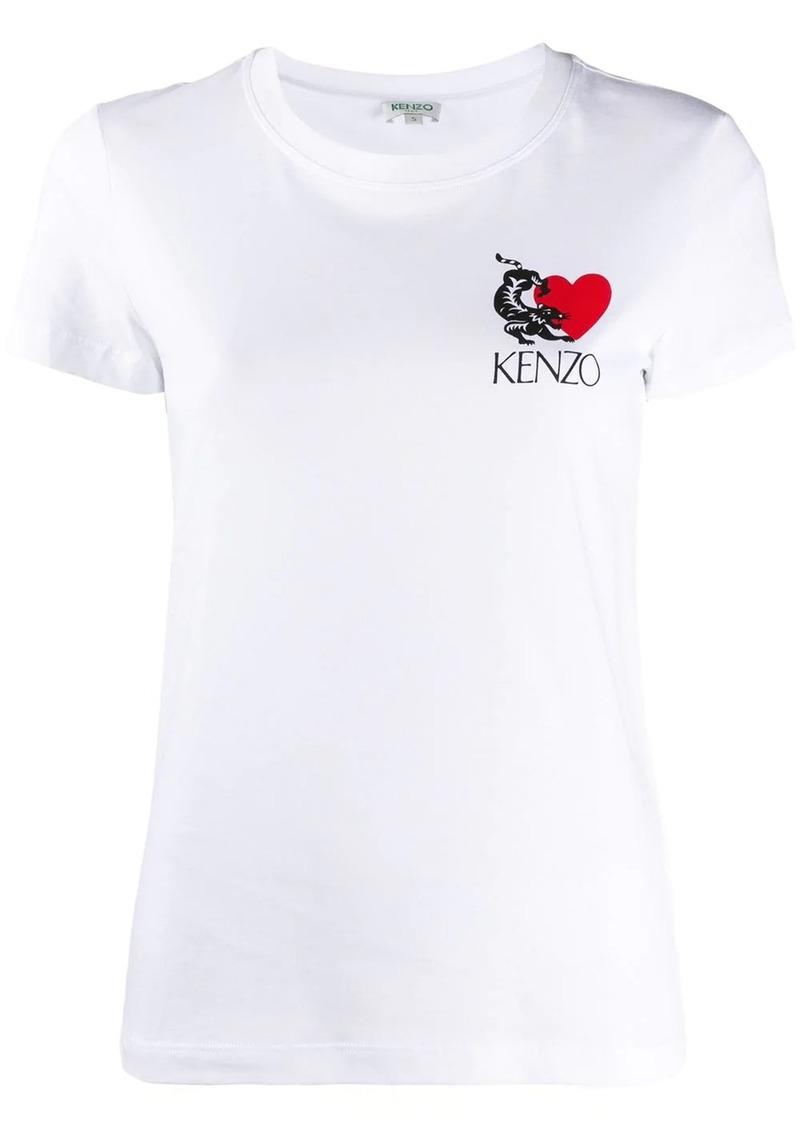 Kenzo logo-print short sleeved T-shrit