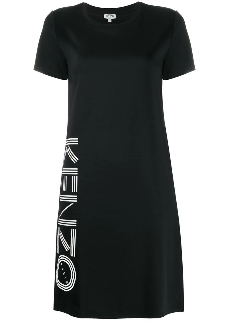 Kenzo logo-print T-shirt dress