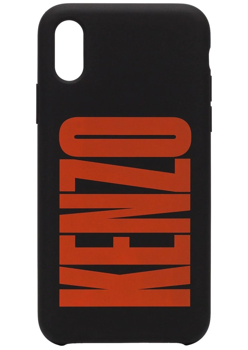 Kenzo logo printed iPhone X case