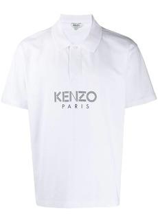 Kenzo logo printed polo shirt