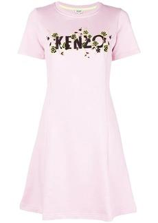 Kenzo logo shift dress