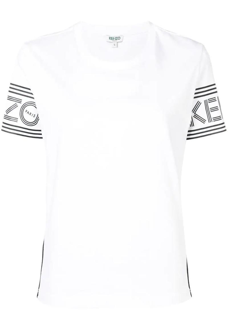 Kenzo logo sleeve print T-shirt