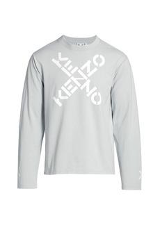 Kenzo Logo Sport Skate Sweatshirt