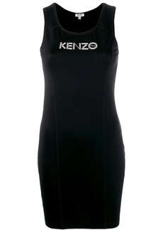 Kenzo logo tank top dress