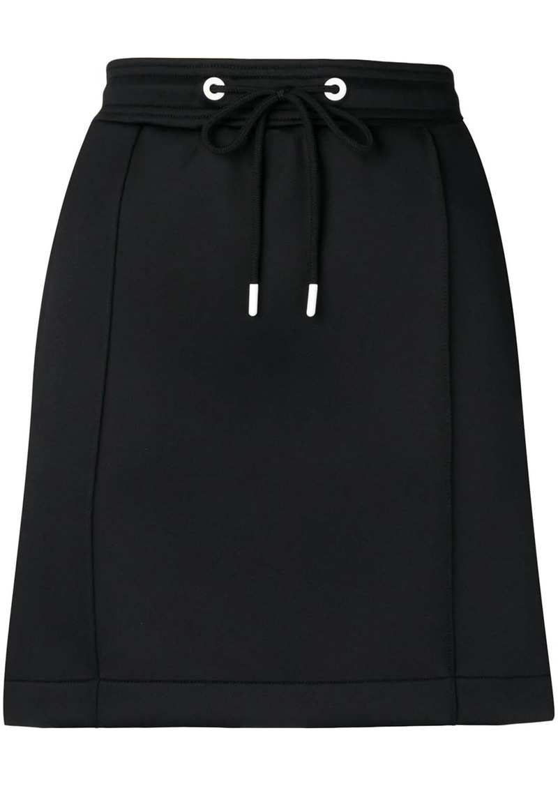 Kenzo logo tape mini skirt