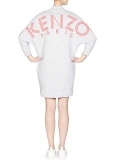 Kenzo Logo V-neck Dress