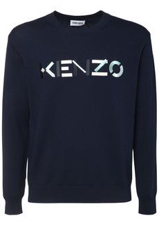 Kenzo Logo Wool Crewneck Sweater