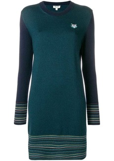 Kenzo long-sleeve fitted dress