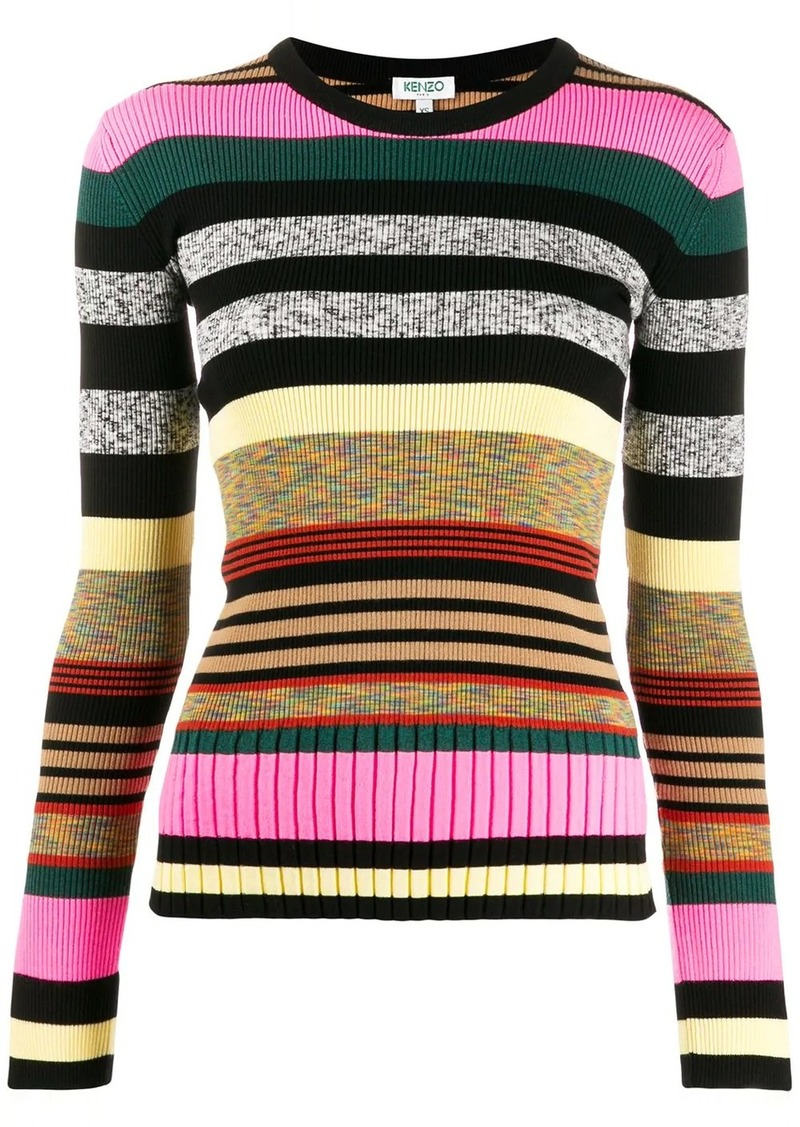 Kenzo long sleeves striped jumper