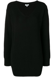 Kenzo longline ribbed knit sweater