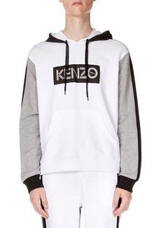 Men's Colorblock Kenzo Logo Hoodie