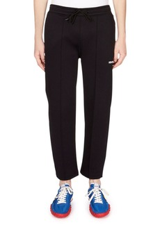 Kenzo Men's Drawstring Cropped Jogger Pants