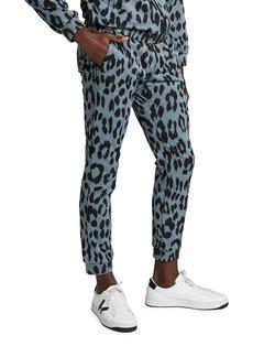 Kenzo Men's Leopard Jacquard Track Pants