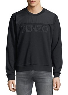 Kenzo Men's Logo-Applique Sweatshirt
