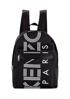 Kenzo Men's Logo Nylon Backpack
