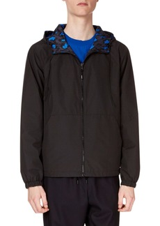Kenzo Men's Reversible Leopard-Print Wind-Resistant Jacket