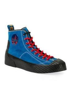 Kenzo Men's Volkano High-Top Sneakers