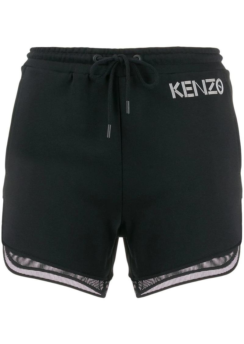 Kenzo mesh hem shorts