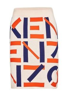 Kenzo Monogram mini skirt