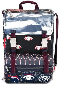 Kenzo multi icon backpack