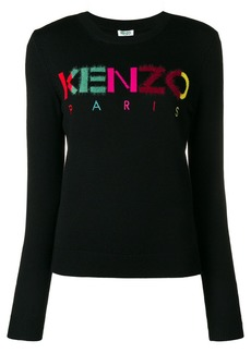 Kenzo multicoloured letters jumper
