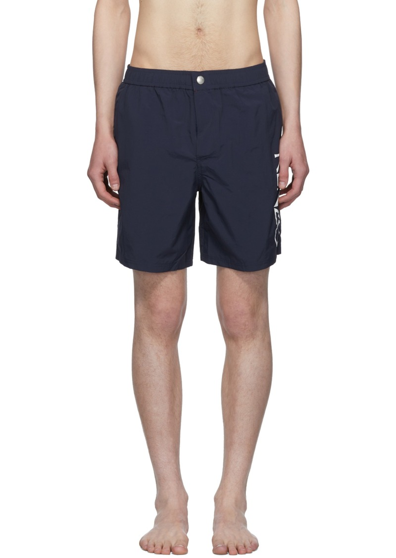 e8cd1b45b9 Kenzo Navy Logo Swim Shorts | Swimwear
