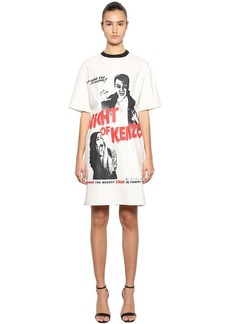 Night Of Kenzo Cotton Poplin Dress