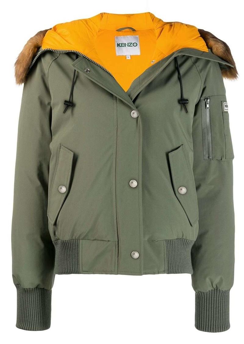 Kenzo padded bomber jacket