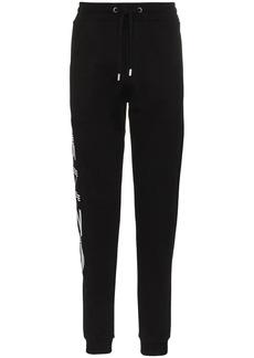 Kenzo paris logo cotton track trousers
