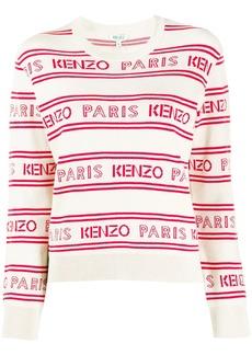 Kenzo Paris logo knit jumper