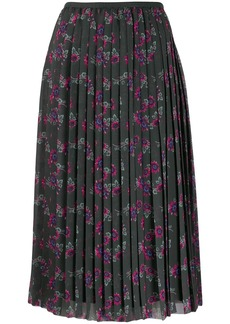 Kenzo Passion Flower pleated skirt