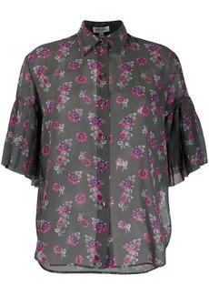 Kenzo Passion Flower sheer shirt